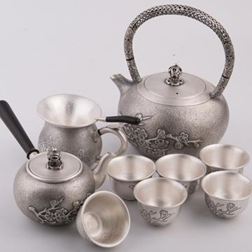 金银泰银茶具