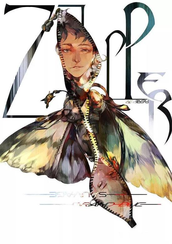 """魔幻冬季仙境系列饰品,以唯美婉约的饰品元素形象去表达对""""力量""""的"""
