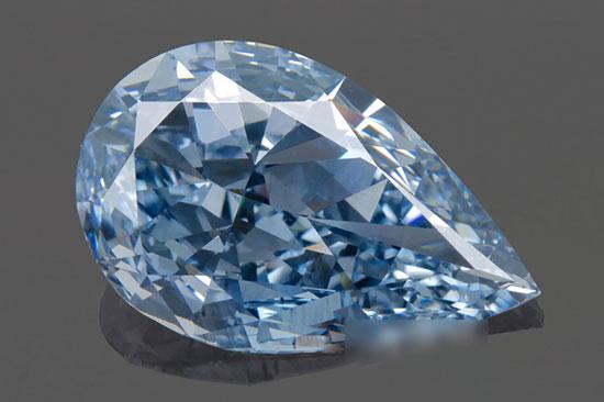 于SSEF测试的蓝色钻石
