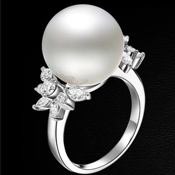 赫本珠宝奢华珍珠戒指