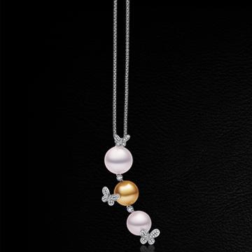 赫本珠宝华丽珍珠镶嵌毛衣链