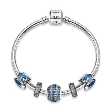 安左拉珠宝创意串珠银饰手镯