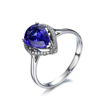 淘气猪时尚宝石戒指