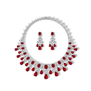 香港皇家珠宝红宝石项链