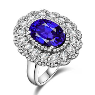 香港皇家千赢国际客户端下载蓝宝石戒指