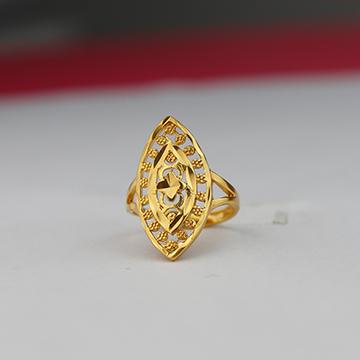神都沙金镂空戒指