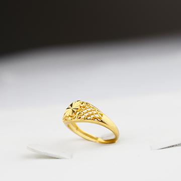 神都沙金时尚精美戒指
