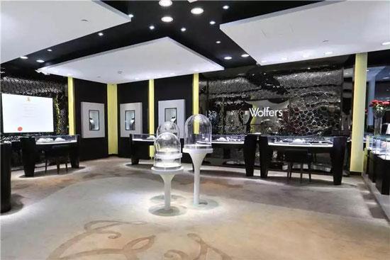 珠宝店设计手绘表现