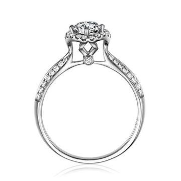 瑞桂福珠宝珍贵系列钻戒