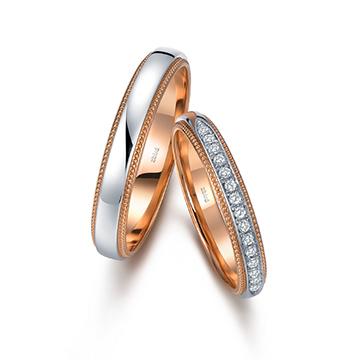 钻石小鸟点滴时光18K金时尚钻石对
