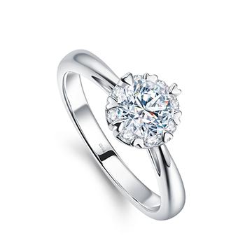 钻石小鸟时尚精美钻戒