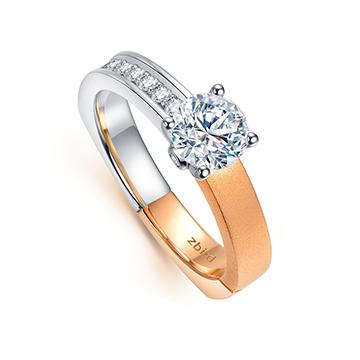 钻石小鸟时尚唯美钻戒