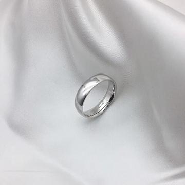 弘宜珠宝白色K金戒指