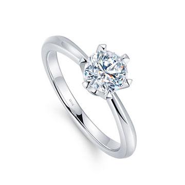 克拉之恋唯美浪漫钻石婚戒