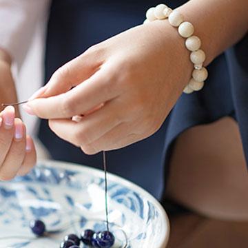 瓷海瓷业冰清玉洁手链瓷首饰