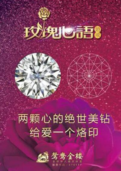 陆毅鲍蕾代言爱的礼物 婚庆珠宝鸳鸯金楼品牌快速崛起