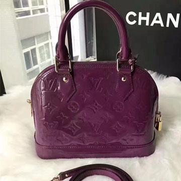 竞奢网LV-紫色-alma-bb包
