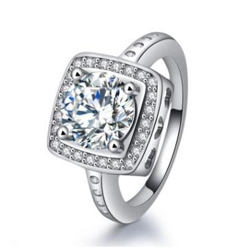 千色叶时尚欧美戒指