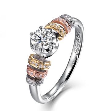 520【奢华】系列米兰钻石婚戒