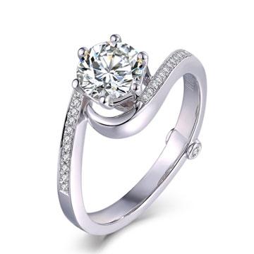 520【-一生一世】系列米兰钻石婚戒