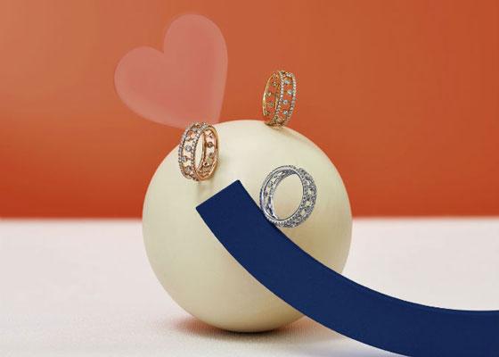 De Beers Jewelers露珠钻戒