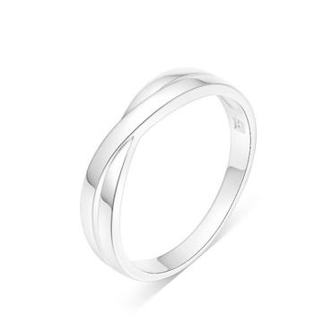 小心怕怕时尚银饰戒指