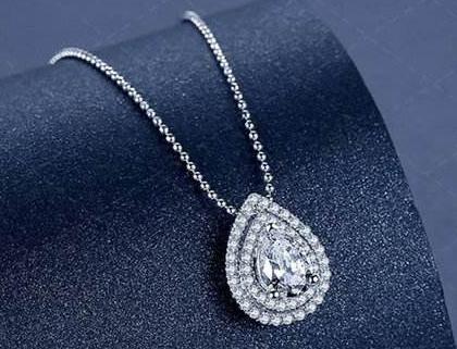 水滴形钻石吊坠为什么受欢迎