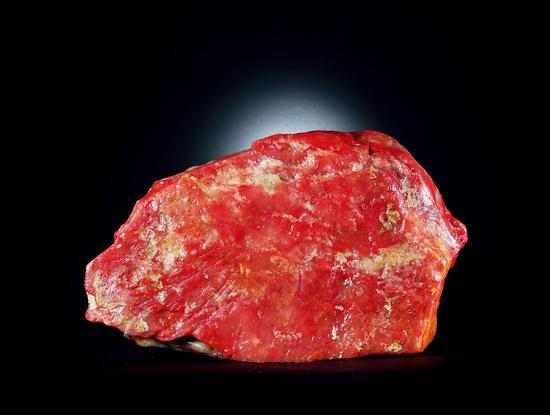 巴林鸡血原石