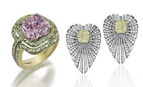 苏富比钻石联合巴西珠宝设计师推出珠宝新品