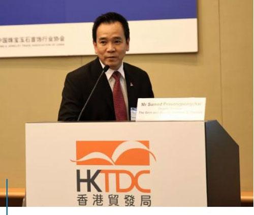泰国珠宝首饰研究院(GIT)副主任Sumed Prasongpongchai