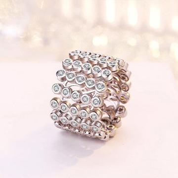 925纯银魔戒可变形戒指