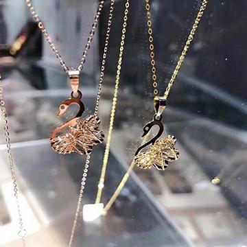 金行家珠寶時尚精美K金項鏈