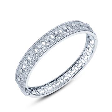 创富珠宝精美钻石手镯