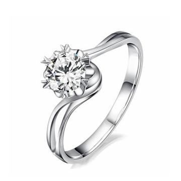 创富珠宝时尚扭臂钻石手镯