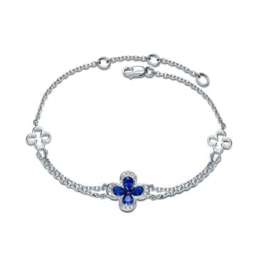 创富珠宝蓝宝石手链