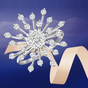 ?#35834;?#26031;时尚奢华钻石戒指