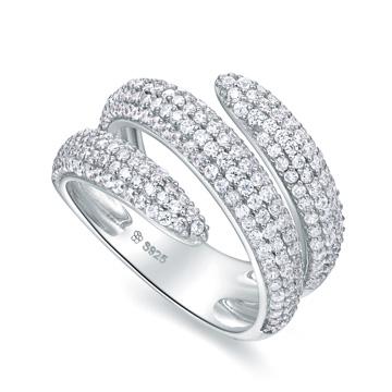 图腾蛇形戒指