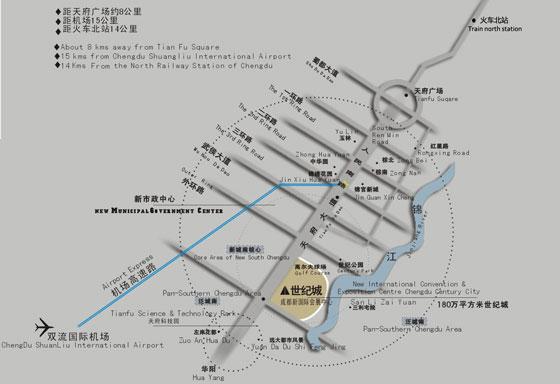 2019第32届成都国际珠宝展展位图
