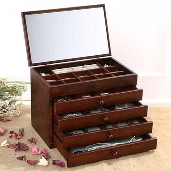 珠宝盒一般用哪些材质,珠宝盒