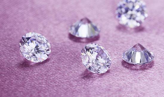 钻石面手绘图彩色