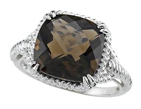 镶嵌黑钻石戒指