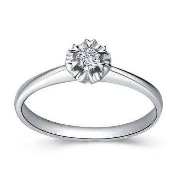 金培育钻石戒指4