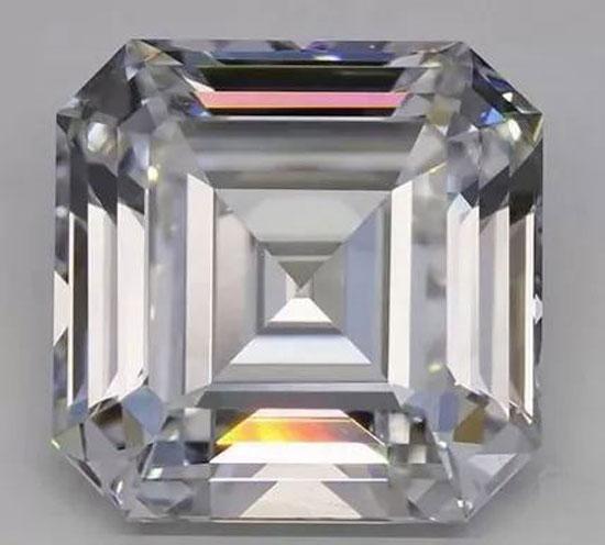 10.02克拉E色VS1培育钻石