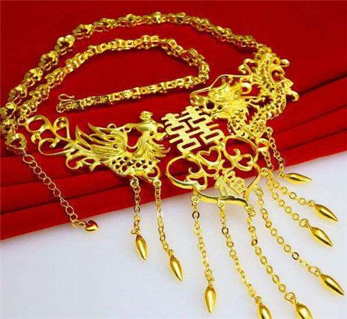 結婚黃金首飾,結婚黃金首飾多少錢