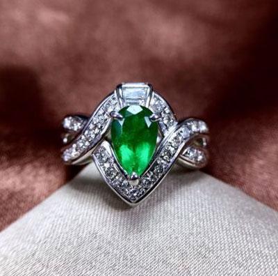 君枫珠宝,祖母绿切割的由来,祖母绿切割优点的介绍