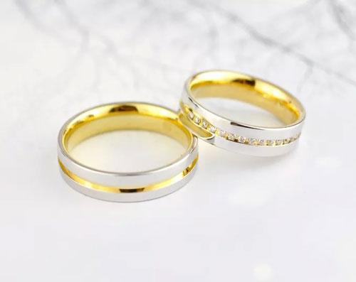 黄金戒指变形,黄金戒指