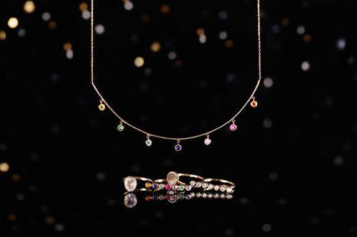 轻奢设计师珠宝品牌COF,东京霓虹系列