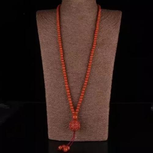 中国的历史文化,南红玛瑙珠子