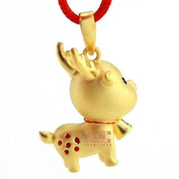 金生福珠宝一鹿有你