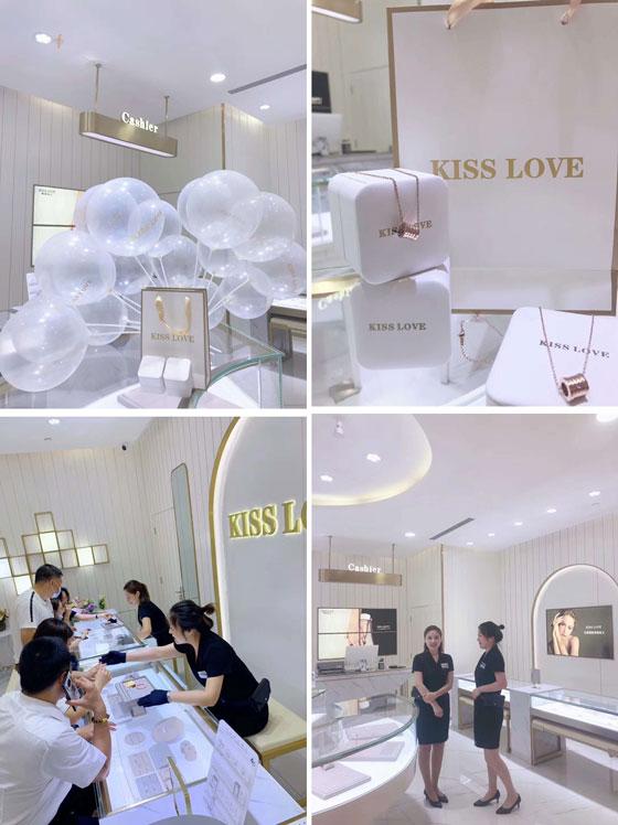 杭州吻爱钻石,吻爱钻石开业,吻爱钻石520